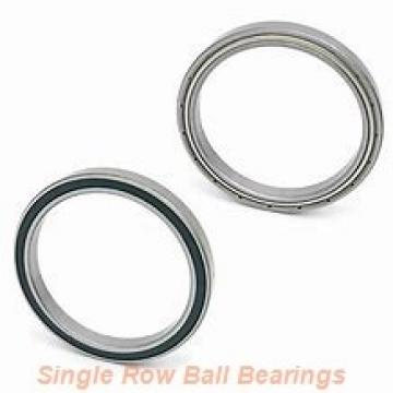 EBC 1652 ZZ  Single Row Ball Bearings